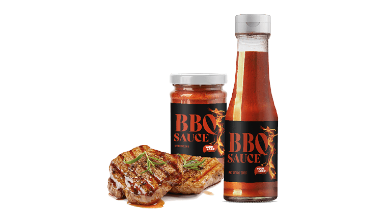 100% NATURAL LOW CALORIES BBQ SAUCE