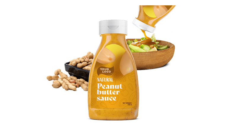 NATURAL PEANUT BUTTER SAUCE