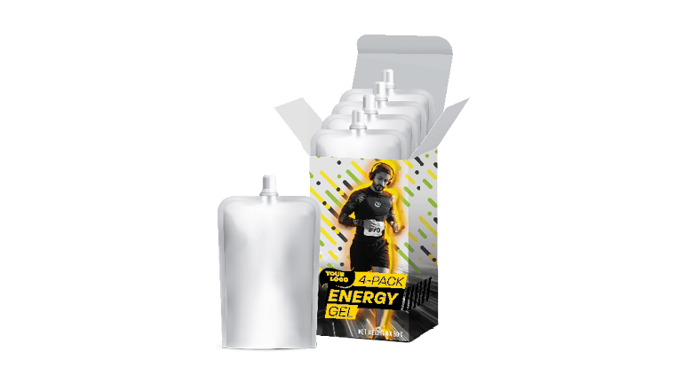 ENERGY SNACKS AND GELS TO GO IN 4 PACKS