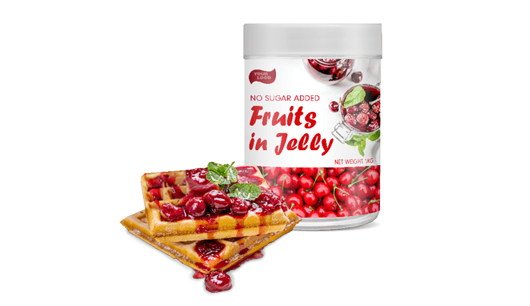 NO SUGAR ADDED FRUITS IN JELLY