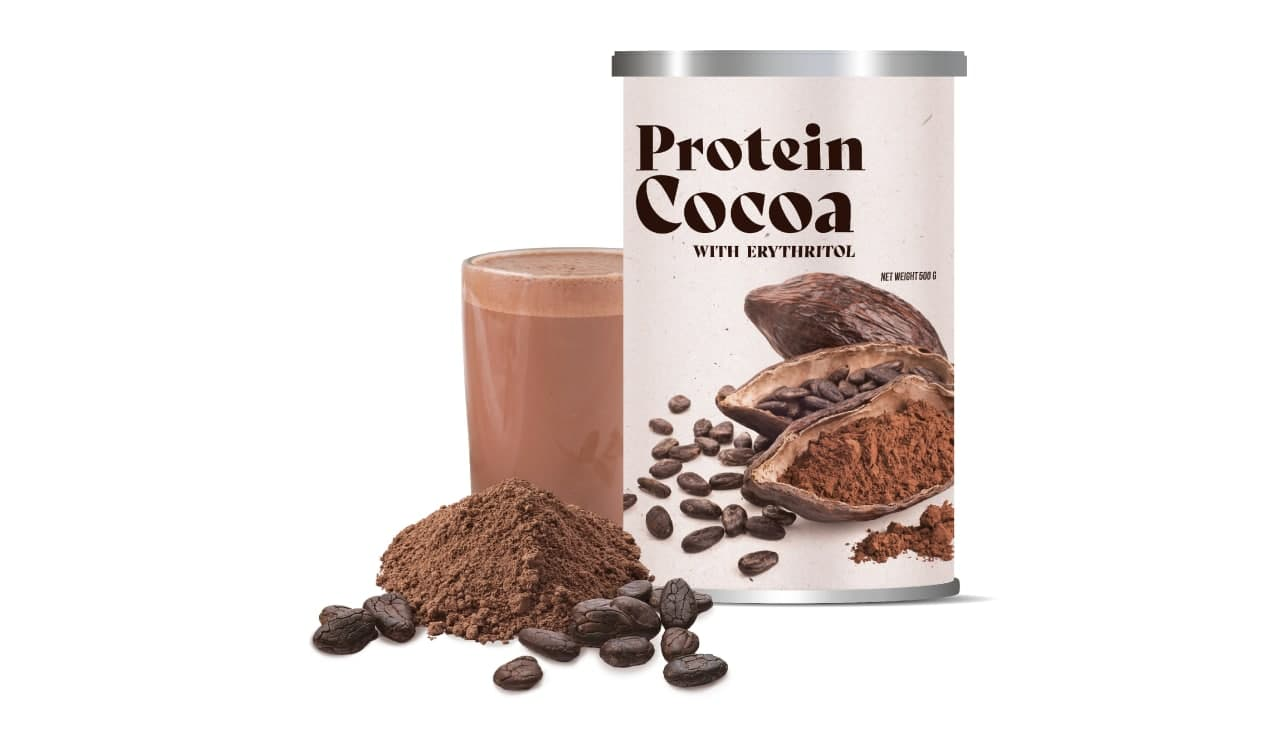 PROTEIN COCOA WITH ERYTHRITOL
