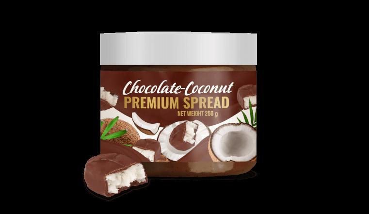 COCONUT – CHOCOLATE SPREAD